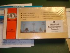 Con Cor 3 electrical  transmission towers 9949 1/87 HO scale model train