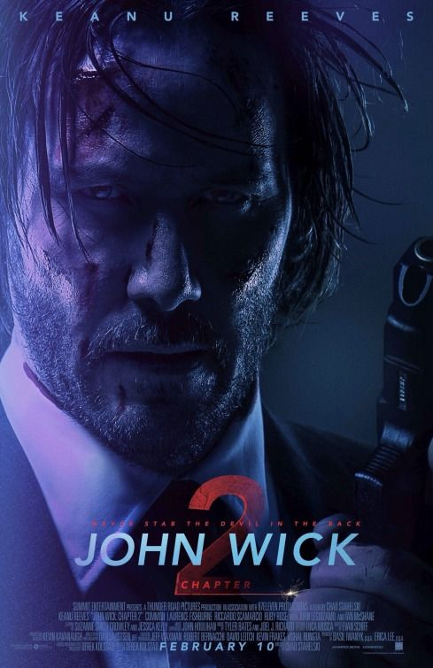 John Wick: Chapter Two (aka John Wick 2) Movie Poster (#4 of 4)