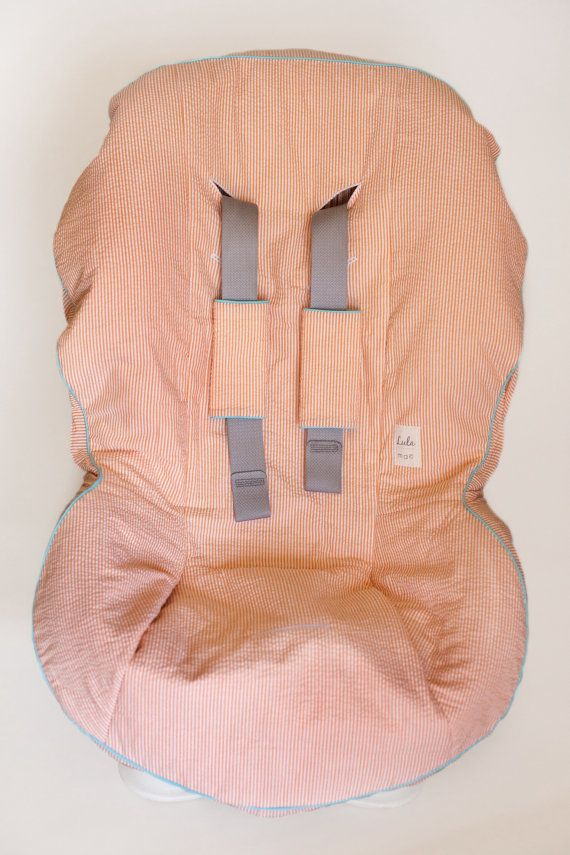 Cute cover for car seat! Custom Car Seat Cover and Matching Buckle Covers by MyLulaMae
