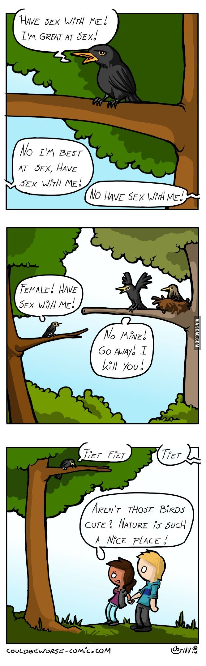Don't you love spring?  Couldbeworse-comic.com