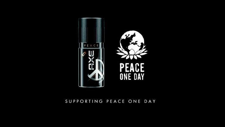 AXE Peace - Make Peace Not War l Partners With Peace One Day