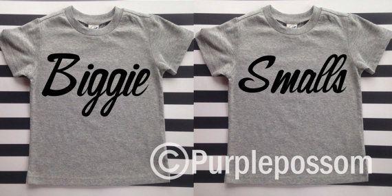 Big Brother Shirt Biggie Hipster Big Brother Shirt by PurplePossom