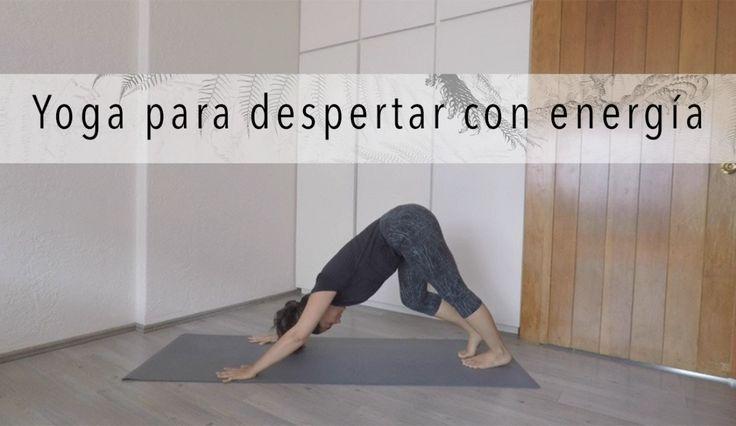 Yoga para despertar con energía - 25 minutos principiantes…  https://tipsalud.com