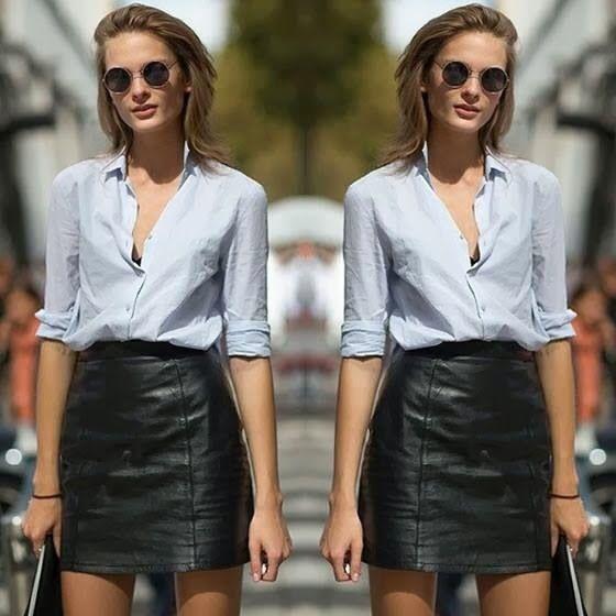 22 best leather skirt images on Pinterest