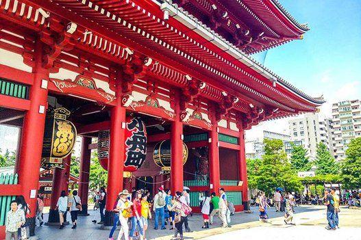 【外国人に人気】日本の観光スポット2016 浅草 (東京都台東区)
