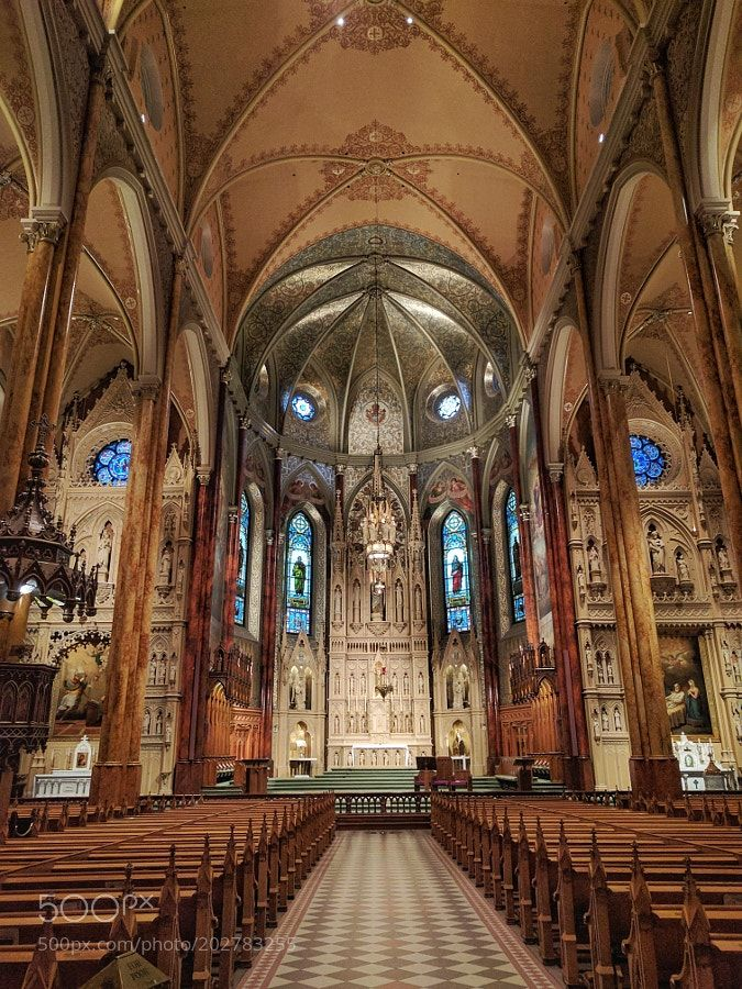 St Patrick's Basilica Montreal by solonchan1