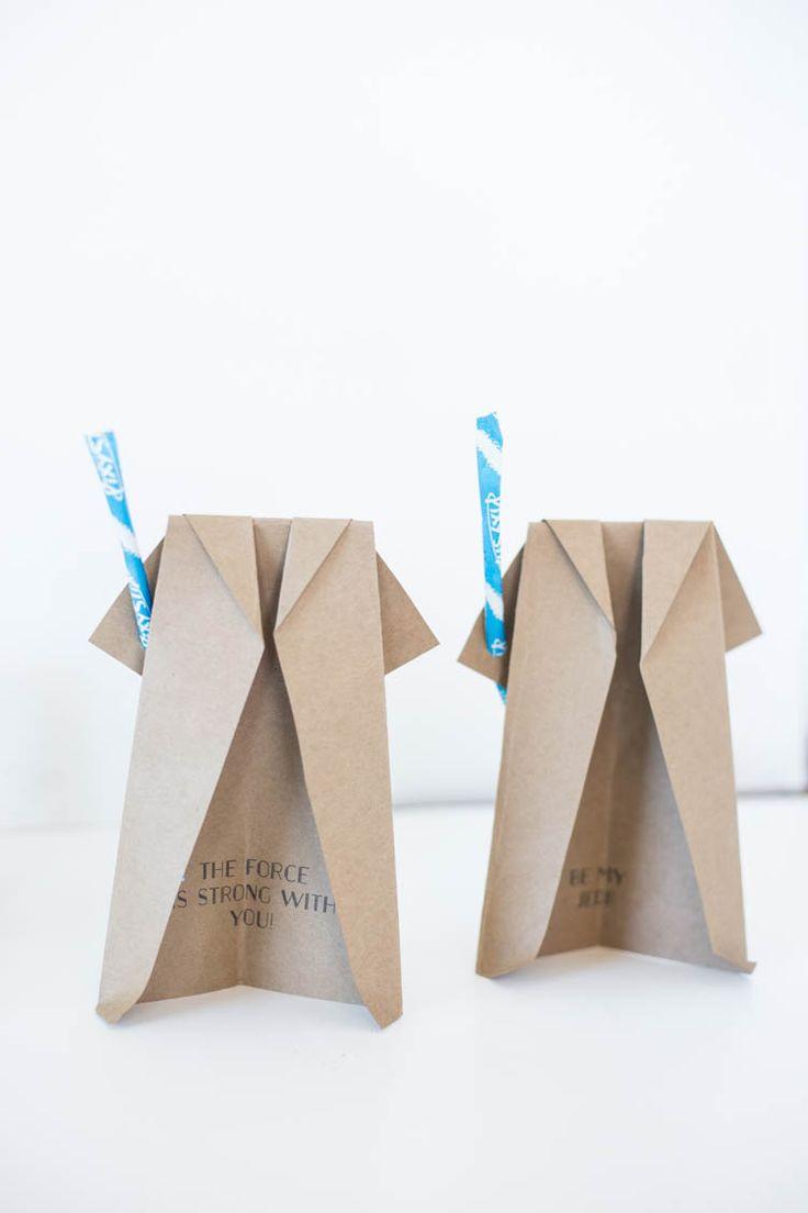 25 melhores ideias de diy robe origami no pinterest vestido de origami origami robe e diy - Robe en origami ...