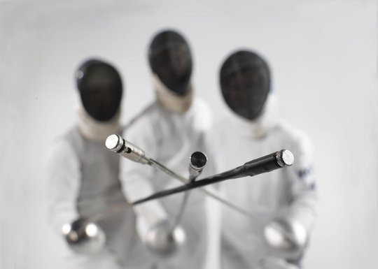 I give equal respect to all three weapons in fencing. ...but epee's still the best. ;)