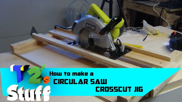 Circular Saw Crosscut Jig// How To