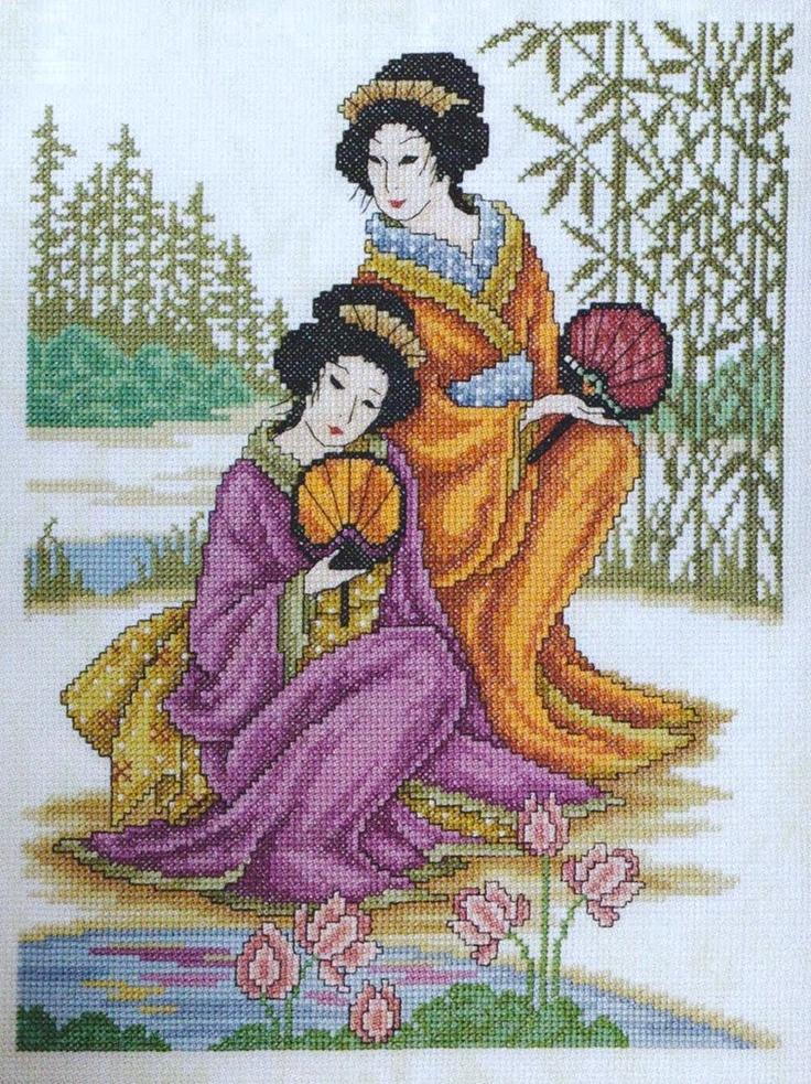 sandylandya.-Two Geisha1