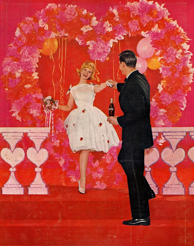 Image result for vintage color valentines day images