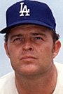 Donald Scott Drysdale  Born: July 23, 1936, Van Nuys, California  Died: July 3, 1993, Montreal,  Bats:   Right  Throws:   Right  Played For:   Brooklyn Dodgers (1956-1957), Los Angeles Dodgers (1958-1969)  Elected to the Hall of Fame by Baseball Writers: 198