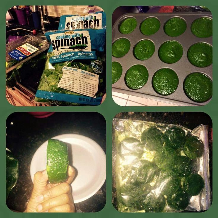 You can freeze spinach as is in the bag or blend with a