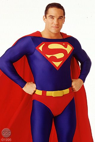 Dean Cain from the Lois & Clark: New Adventures of Superman TV show