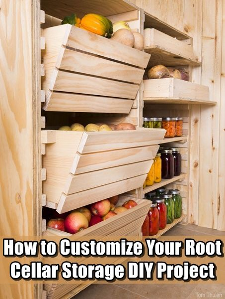 How to Customize Your Root Cellar Storage DIY Project,homesteading,how to,storage,food,prepping,food storage project,frugal,preparedness,cheap,