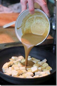Peanut Sauce & Tofu Marinade