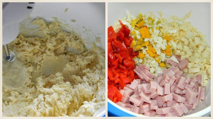 Já jsem dělávala sýrovou roládu tak, že jsem hroudu sýra vařila v mikrotenovém sáčku a pak jsem válela. Takto to je mnohem jednodušší.