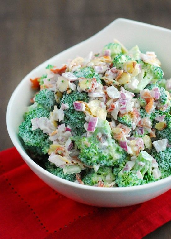 Low-Carb Broccoli Salad