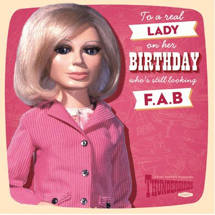 New Official Lady Penelope Thunderbirds Card available direst from Publisher with FREE UK Delivery at https://www.danilo.com/Shop/Cards-and-Wrap/Thunderbirds-Cards/Thunderbirds-Lady-Penelope-Birthday-Card
