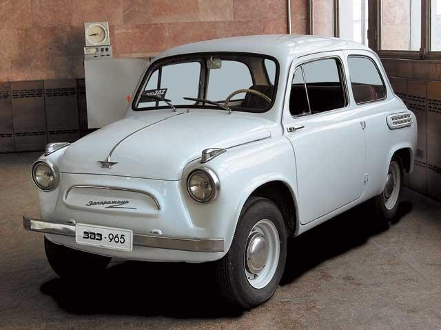 ZAZ 965 (1960-1967) from the Ukraine.
