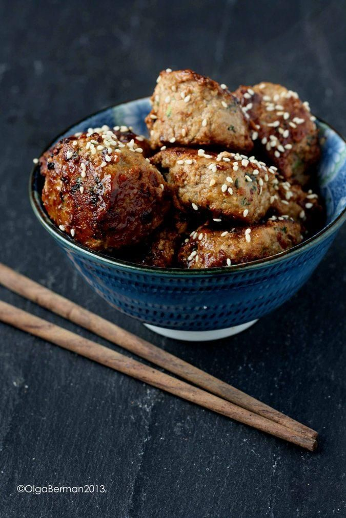 How To Make What to do with Ground Pork: Asian Pork Meatballs with Teriyaki Glaze - Pork Recipe