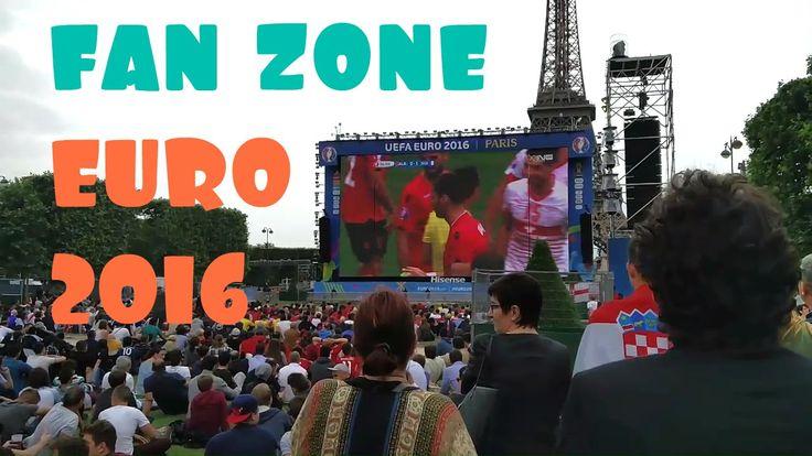 Paris Vlog #19 ★ ФАН ЗОНА Евро 2016 Париж   Бонжур Франция