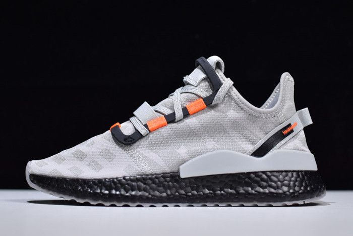 2019 adidas Nite Jogger 2019 Boost GreyBlack Orange CG7091