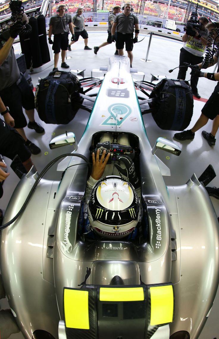 Formel 1 - MERCEDES AMG PETRONAS, Großer Preis von Singapur. 20.-22.09.2013. Lewis Hamilton