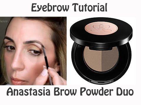 Eyebrow Tutorial using Anastasia Bold Brows Kit - YouTube