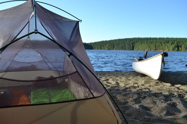 Love waking up to this. Sayward Forest Canoe Route, #Vancouver Island: Dam Good Trips #DamGoodDays