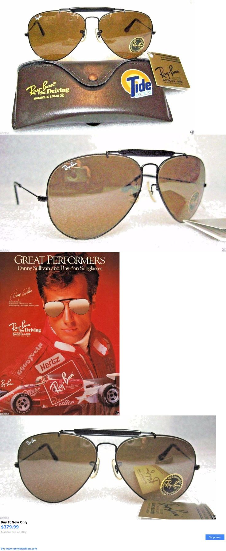 Vintage accessories: Vintage *Nos Ray-Ban Bandl Aviator Tide-Nascar Outdoorsman *Tgm *New Sunglasses BUY IT NOW ONLY: $379.99 #ustylefashionVintageaccessories OR #ustylefashion