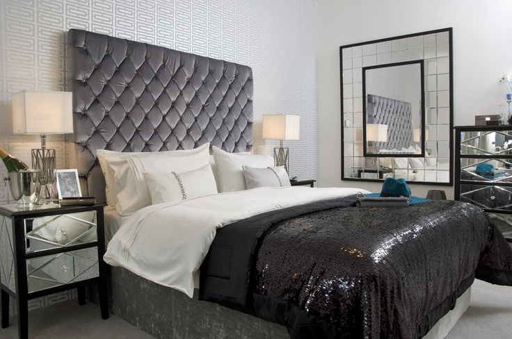 Modern and fashionable bedrooms #bedroom #Lakeshore