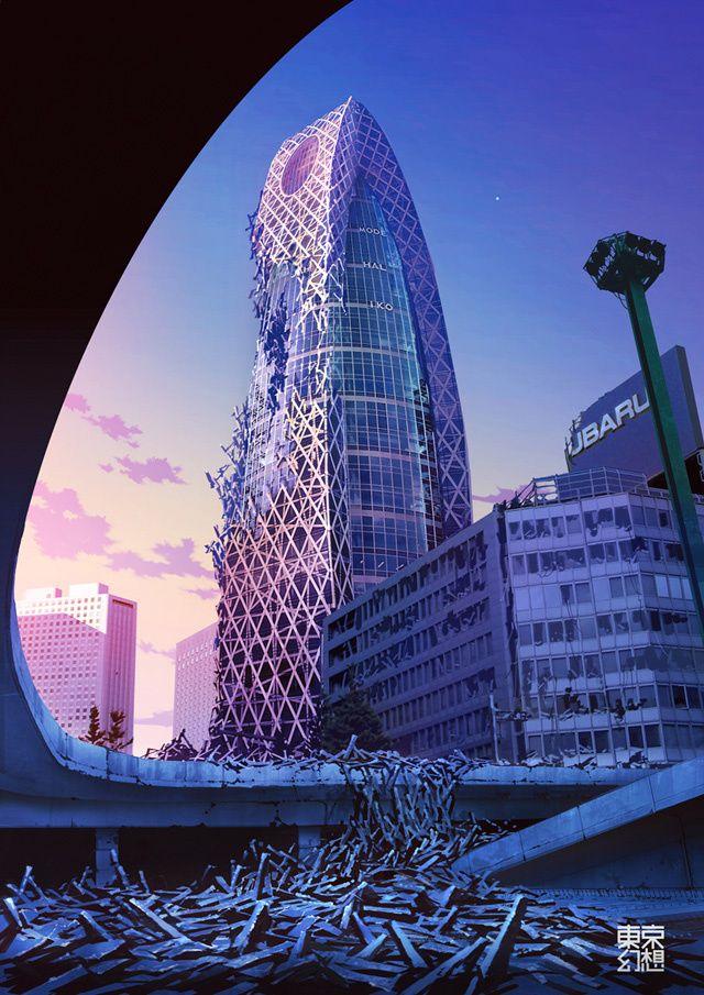 Post Apocalyptic Tokyo
