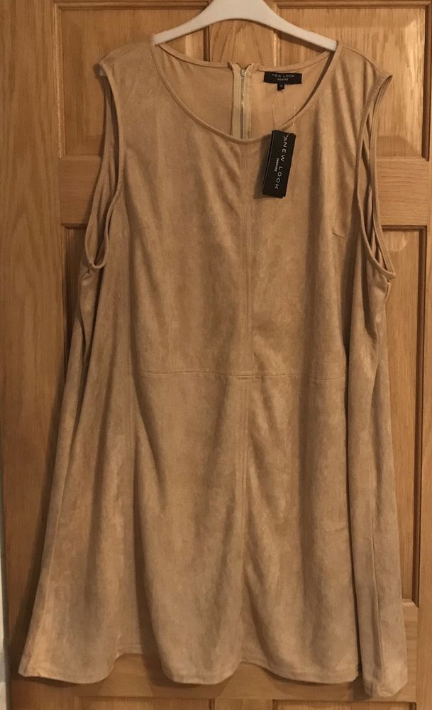 34e7bd4f6ae ... cheaper WOMANS NEW LOOK INSPIRE BEIGE PLUS SIZE DRESS SIZE UK 26 - RRP  19.99 -  release info on SIENNA BOUQUET Wendy Wrap ...