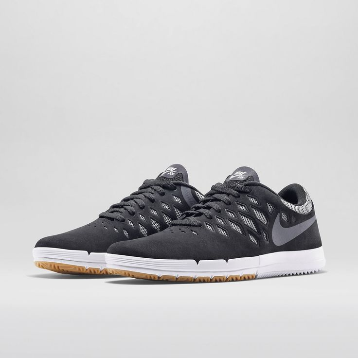 Just as it did with its new cross trainers, the Nike SB Free skateboarding  shoe inherits the Free's flexible outsole and lightweight construction,  while th.