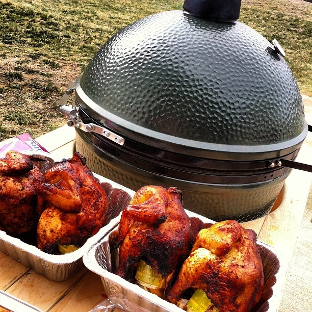 more bbq chicken. My babe loves his green egg grill! :)