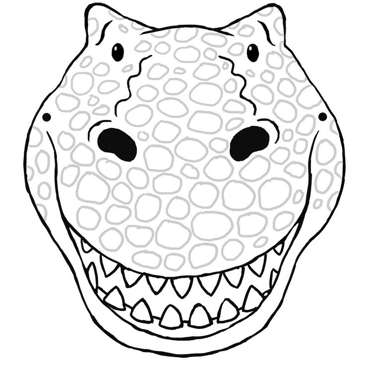 Best 25+ Dinosaur mask ideas on Pinterest It clown mask - face masks templates