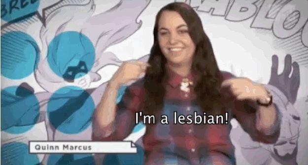 Lesbian hand code