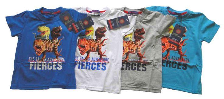 Dinosaurier T-Shirt T-Rex für Jungen