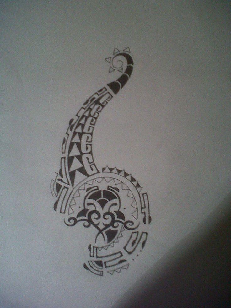 polynesian tattoo design by *tattoosuzette on deviantART