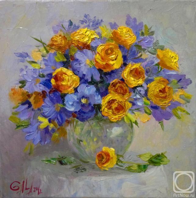 """Астапова Галa. """"Цветы"""""""
