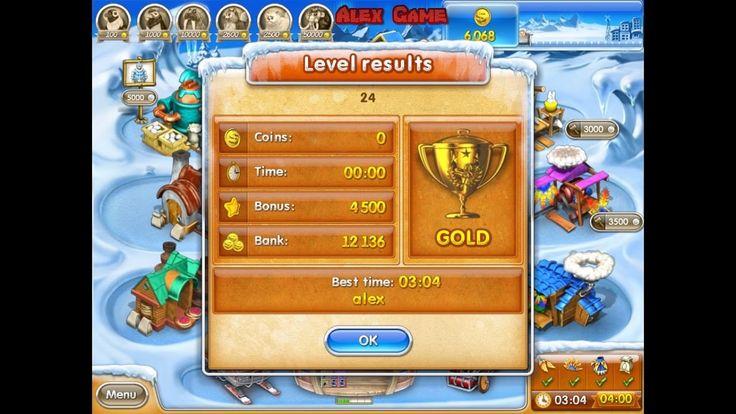 Farm Frenzy 3 Ice Age (level 24) only GOLD Веселая ферма 3 Ледниковый период (уровень 24) Золото