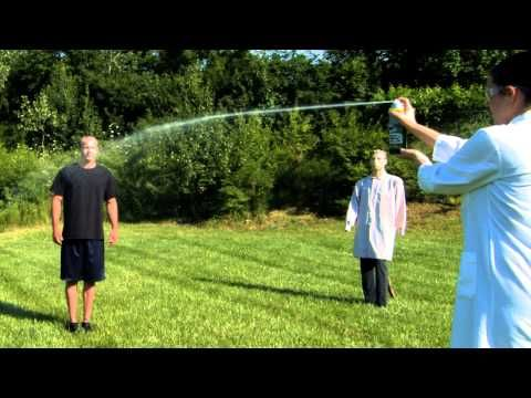 Pepper Spray vs. Wasp Spray Challenge: Get the Facts for Self-Defense - YouTube