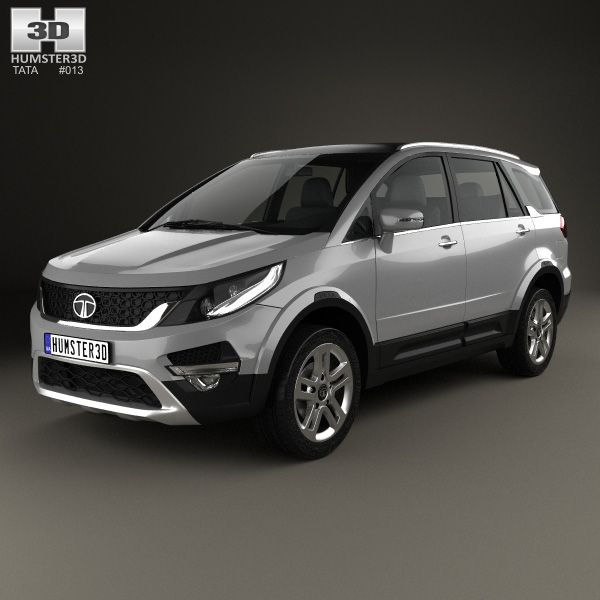 Tata Hexa 2016 3d model from Humster3D.com
