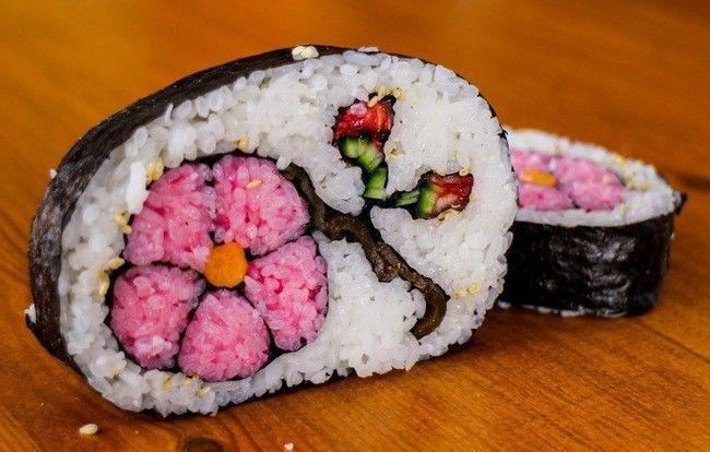 Японское искусство: 30 лучших роллов и суши