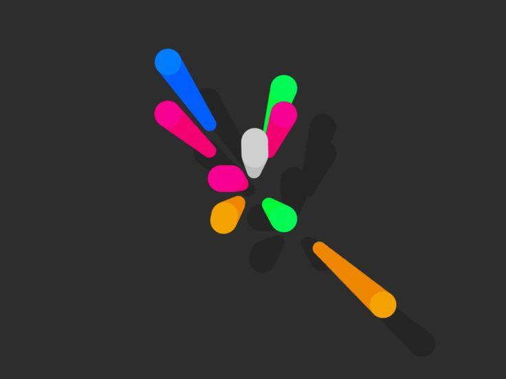 colorful animated gif by Luke Roberts