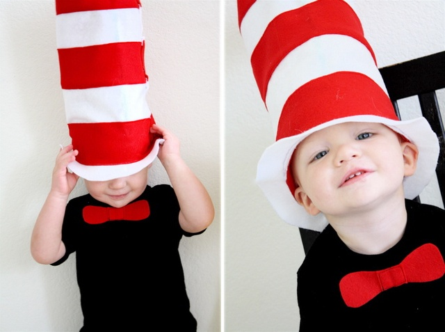 cat in the hat 25 best diy halloween costumes for boys - Cat In The Hat Halloween Costume Ideas