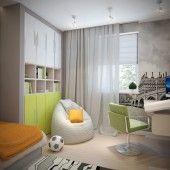 Детские комнаты фото - дизайн интерьера