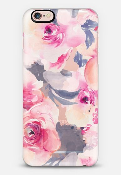 Watercolor Flower Iphone Case by Angie Makes