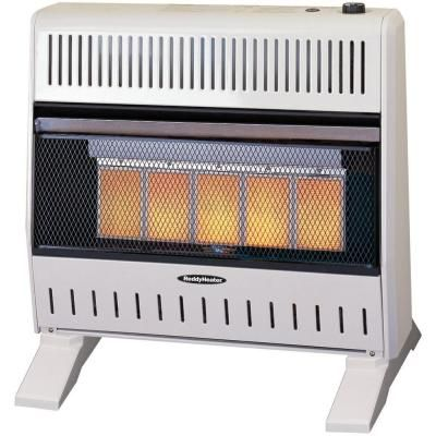 26 000 30 000 Btu Infrared Dual Fuel Wall Heater With